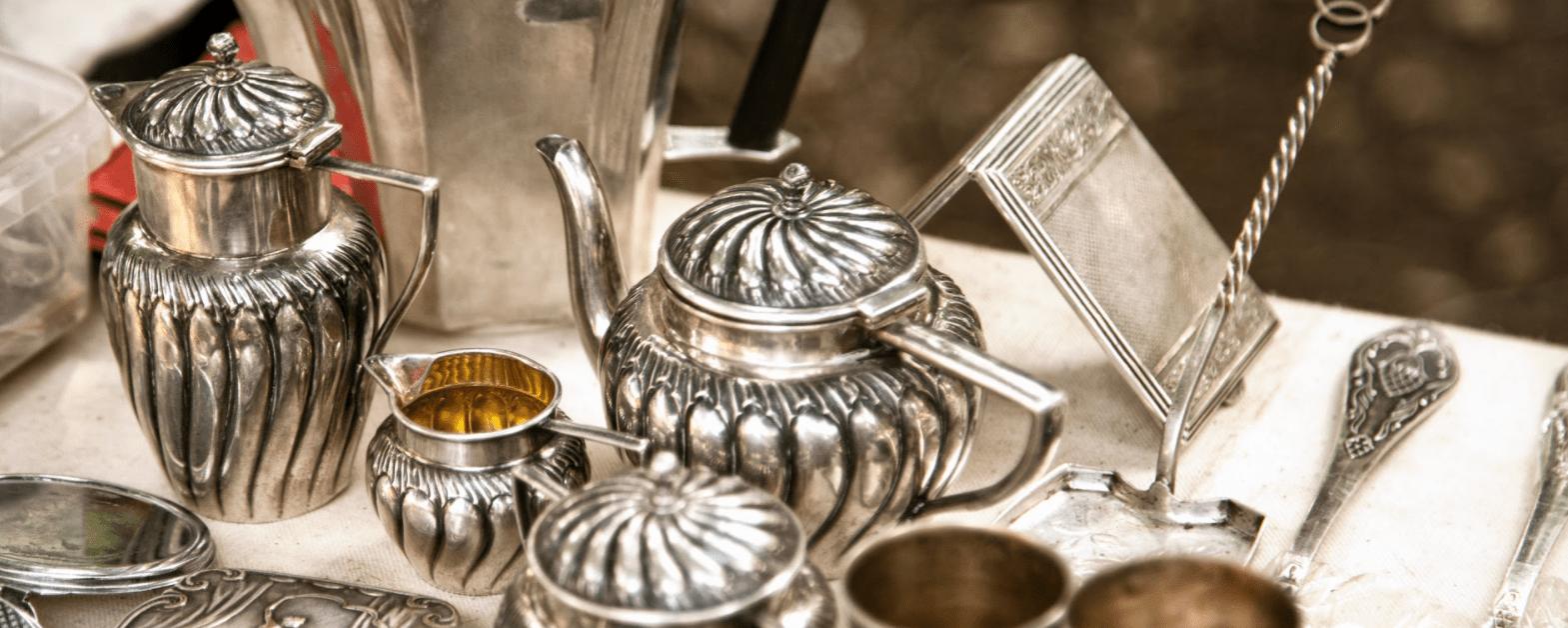 Diverses Silbergeschirr von Leihhaus Hannovera